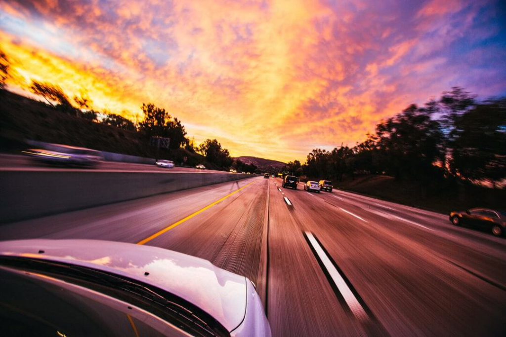 Bötessumman för lindrig fortkörning sjunker